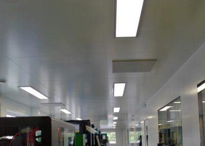Eclairage laboratoire
